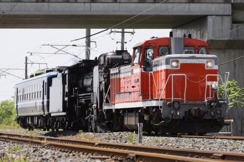 【JR東】D51-498+オヤ12-1 盛岡へ配給