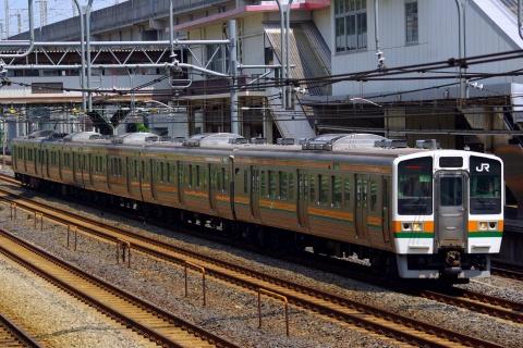 【JR東】211系高崎車使用「利根・沼田ひまわり号」運転