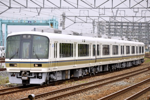 【JR西】221系キトK9編成 本線試運転