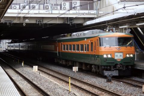 【JR東】185系200番代OM03編成 大宮総合車両センター出場