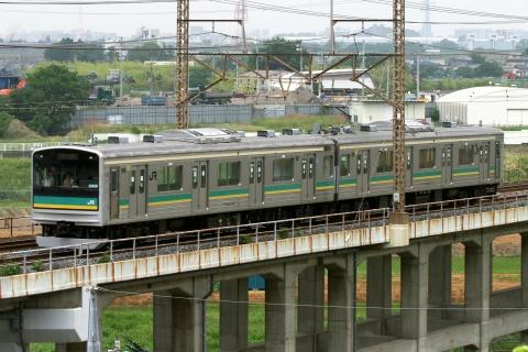 【JR東】205系1000番代ナハW1編成 大宮総合車両センター出場