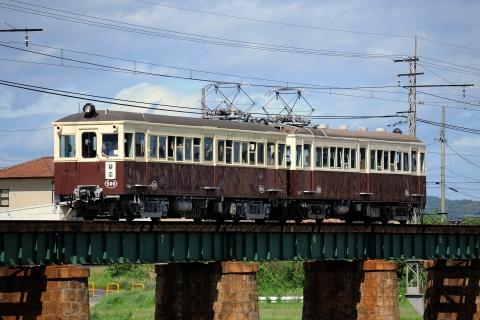 【ことでん】レトロ電車 特別運行実施