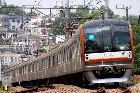 【メトロ】10000系10103F使用 東横線日中試運転実施
