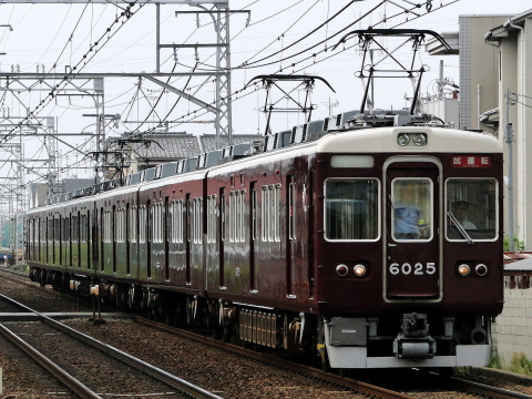 【阪急】6000系6025F+6026F 試運転
