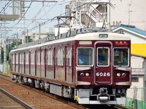 【阪急】6000系6026F 出場試運転