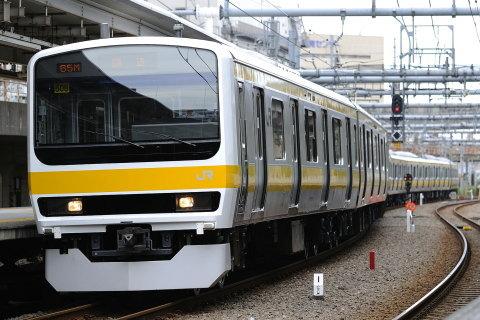 【JR東】209系500番代ミツC508編成 東京総合車両センター出場