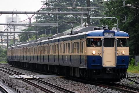 【JR東】115系トタM40編成 山手貨物線で乗務員訓練