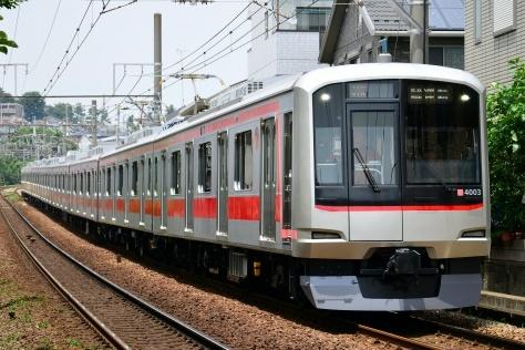 【東急】5050系4103F 東横線で試運転