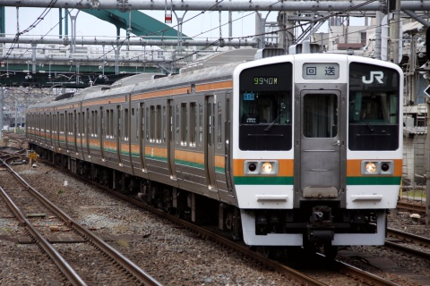 【JR東】211系2000番代チタN59編成 田町車両センターへ返却