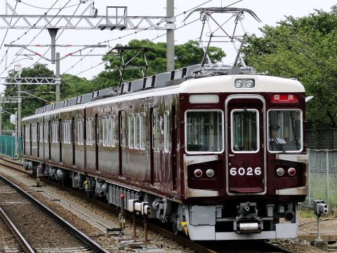 【阪急】6000系6026F 返却回送