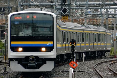 【JR東】209系マリC605編成 東京総合車両センター出場