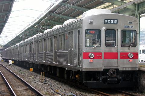 【伊豆急】団体臨時列車「なつかしの8000系」運転