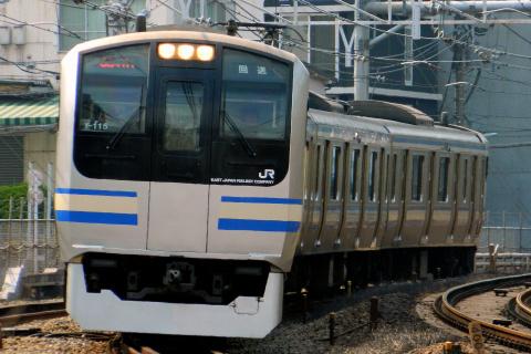 【JR東】E217系クラY115編成 東京総合車両センター入場