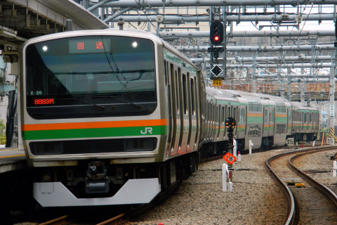 【JR東】E231系コツK26編成 東京総合車両センター出場