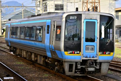 【JR四】2000系2117号 多度津工場へ回送