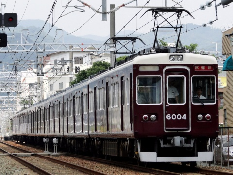 【阪急】6000系6004F 箕面線で乗務員訓練