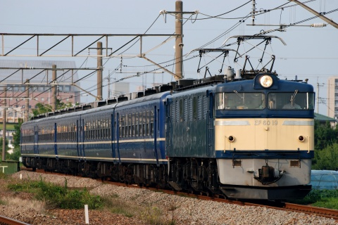 【JR東】EF60-19+12系5両 上越線で乗務員訓練