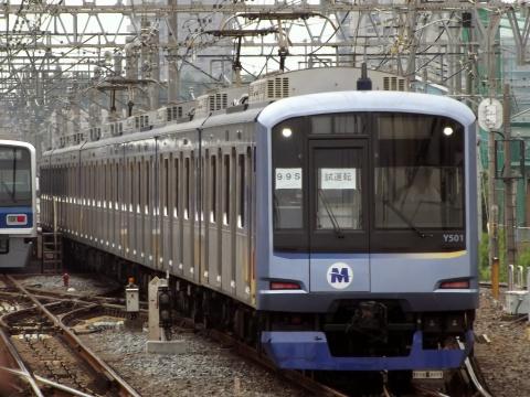 【横高】Y500系Y511F 副都心線内で試運転