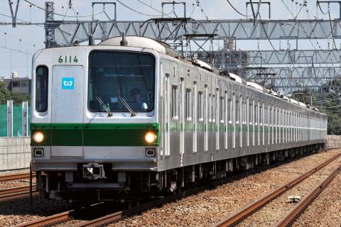 【メトロ】6000系6114F 小田急線内試運転