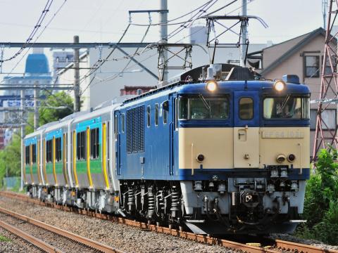 【JR東】久留里線向けキハE130系100番代3両 新津車両製作所出場