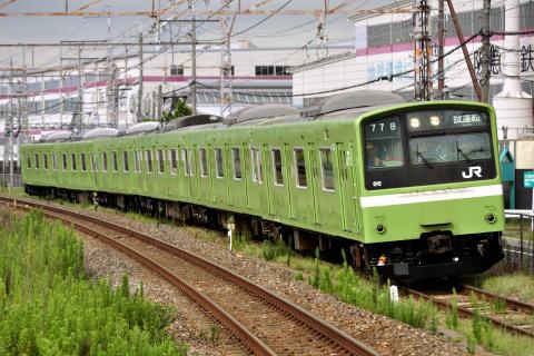 【JR西】201系ナラND602編成 吹田総合車両所構内試運転