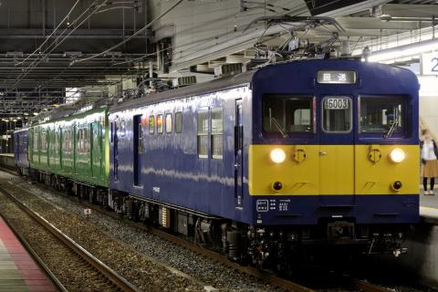 【JR西】113系フチR1編成 福知山電車区へ回送