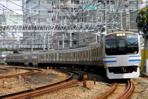 【JR東】E217系クラY42編成 東京総合車両センター入場