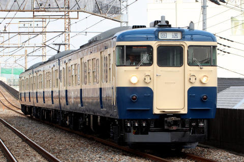 【JR東】115系トタM5編成 大宮総合車両センター出場