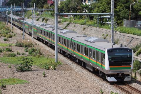 【JR東】E233系3000番代タカL03編成 返却回送