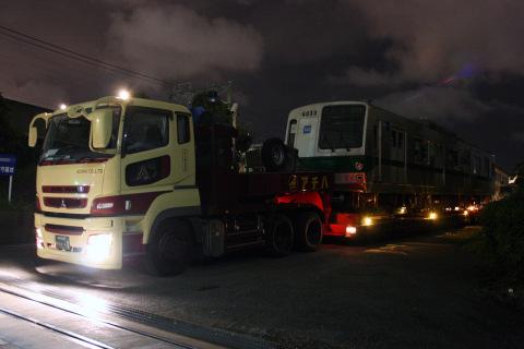 【メトロ】6000系6133F 東京木材埠頭へ陸送