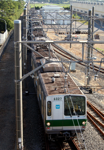 【メトロ】6000系6127F 新木場CRへ回送