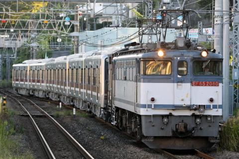 【新京成】N800形838F 甲種輸送