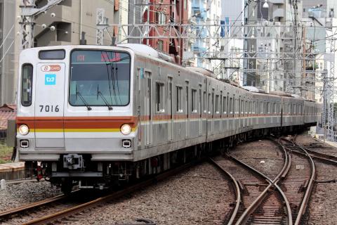 【メトロ】7000系7116F 東横線・みなとみらい線で試運転