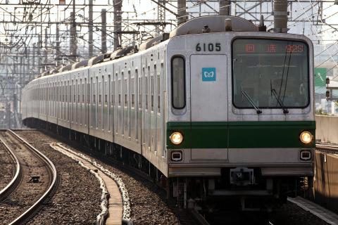 【メトロ】6000系6105F 新木場CRへ回送