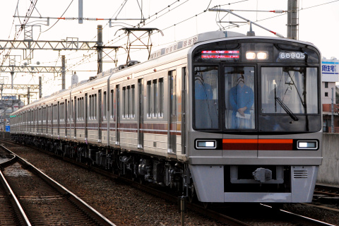 【大阪市交】66系66605編成 試運転