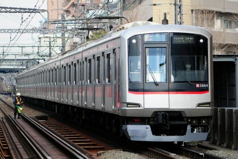 【東急】5050系5164F 東横線内で試運転