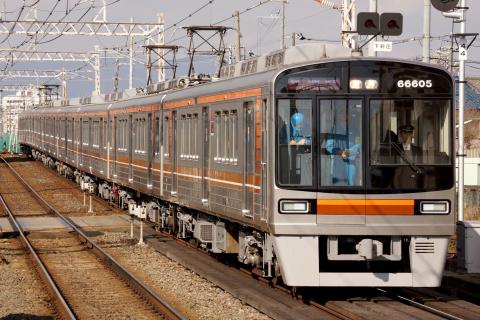【大阪市交】66系66605F 試運転(24日)