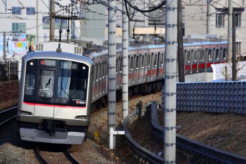 【東急】5050系4101F 長津田検車区へ回送