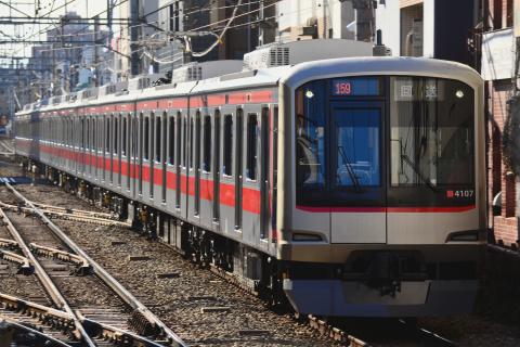 【東急】5050系4107F 元住吉へ回送
