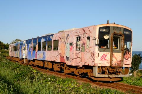 【のと鉄】NT200形NT201+NT202編成使用 「ぼんぼり号」運転
