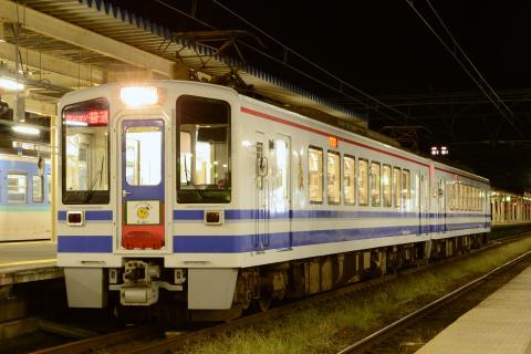 【北越】HK100形 「鉄道の日」ヘッドマーク掲出