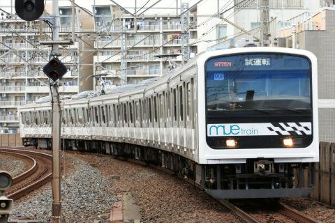 【JR東】209系『MUE-Train』京葉線試運転