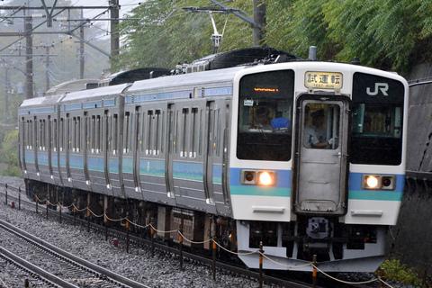 【JR東】211系3000番代ナノN336編成使用 乗務員訓練