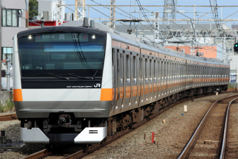【JR東】E233系トタT30編成 東京総合車両センター出場