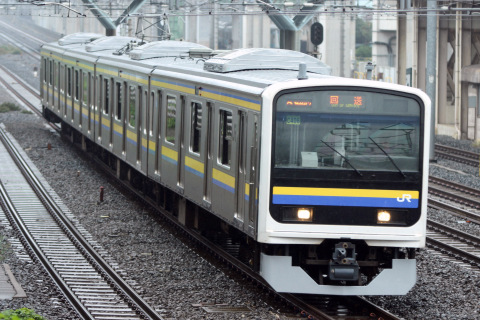 【JR東】209系2100番代マリC406編成 大宮総合車両センター出場