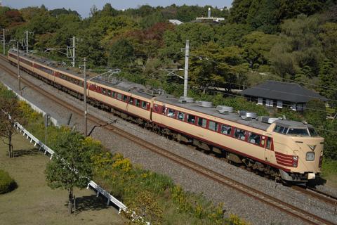【JR東】485系T18編成使用 「上里町民ハイキング」号運転