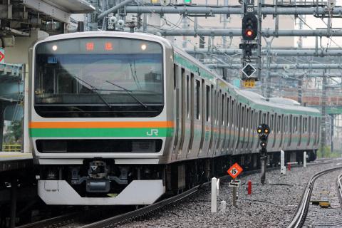 【JR東】E231系1000番代ヤマU45編成 東京総合車両センター出場