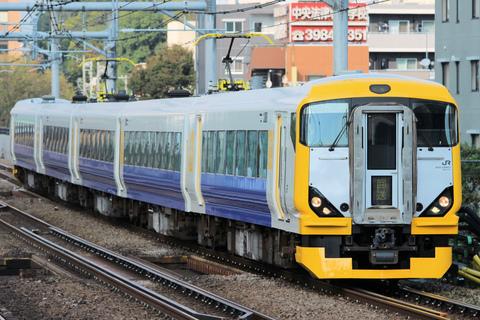 【JR東】E257系500番代マリNB-17編成 大宮総合車両センター出場