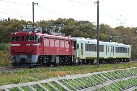【JR東】キハ111-208+キハ112-208 郡山総合車両センター入場