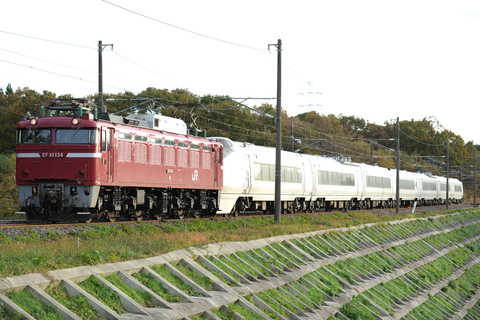 【JR東】651系K108編成 郡山総合車両センター入場
